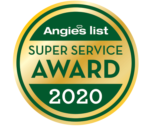 2020 Angie's List Super Service Award®
