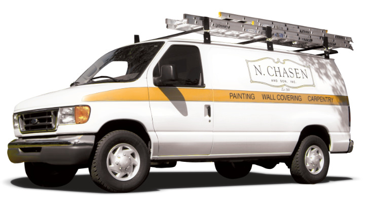 N Chasen and Son Painter Van